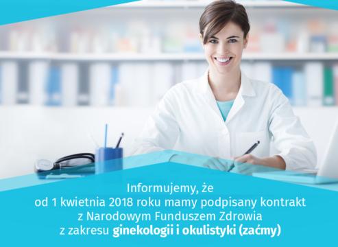 Zaćma ioperacje ginekologiczne wramach NFZ