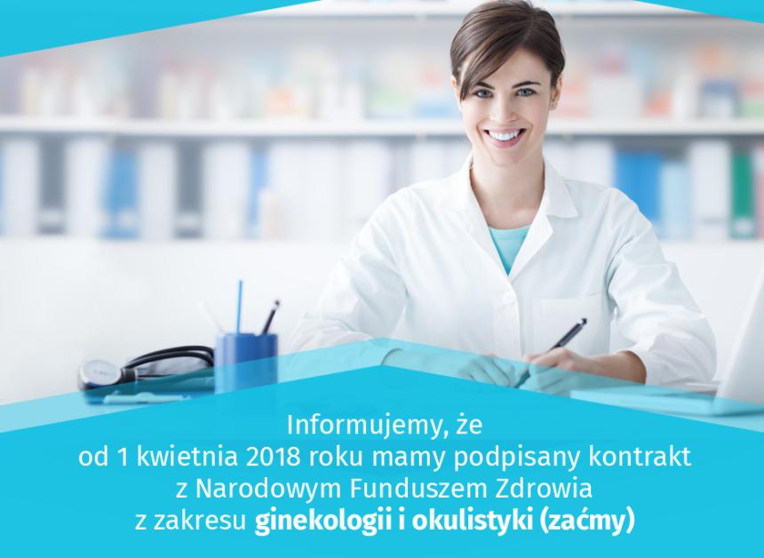 Zaćma i operacje ginekologiczne w ramach NFZ