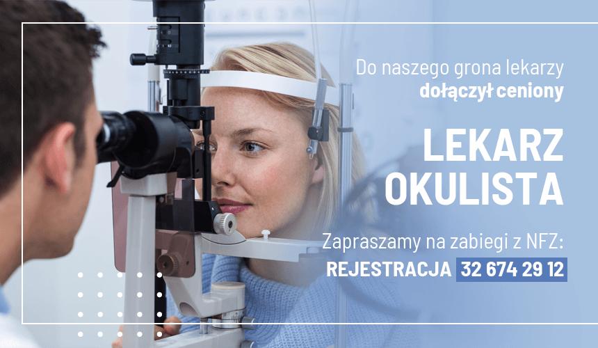 Nowy specjalista okulistyki – drn.med. Łukasz Kulesza