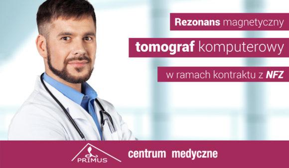 Kontrakt zNFZ nabadania diagnostyki obrazowej (Rezonans iTomografia)